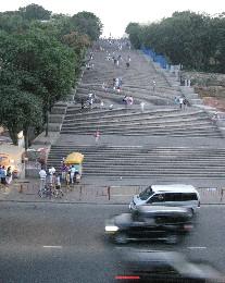 Photo: The Potempkin Steps in Odessa, Ukraine. Credit: Lisa Borre.