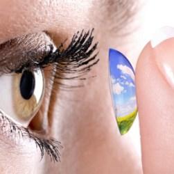 kontaktiniai lęšiai