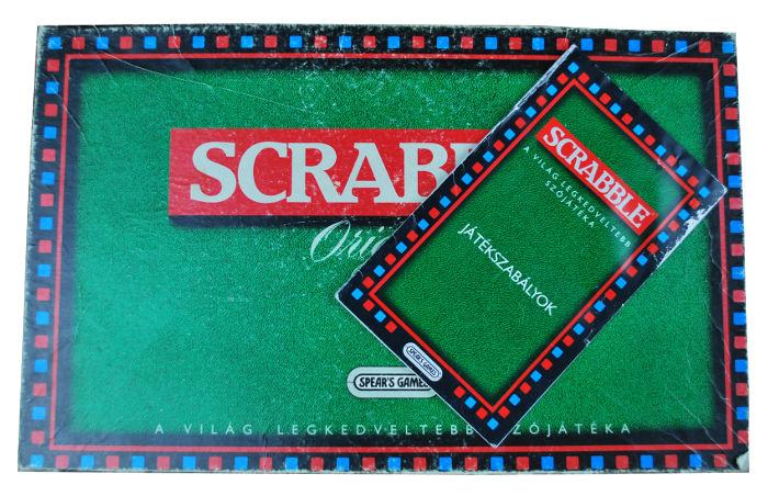 Scrabble társasjáték játékszabálya