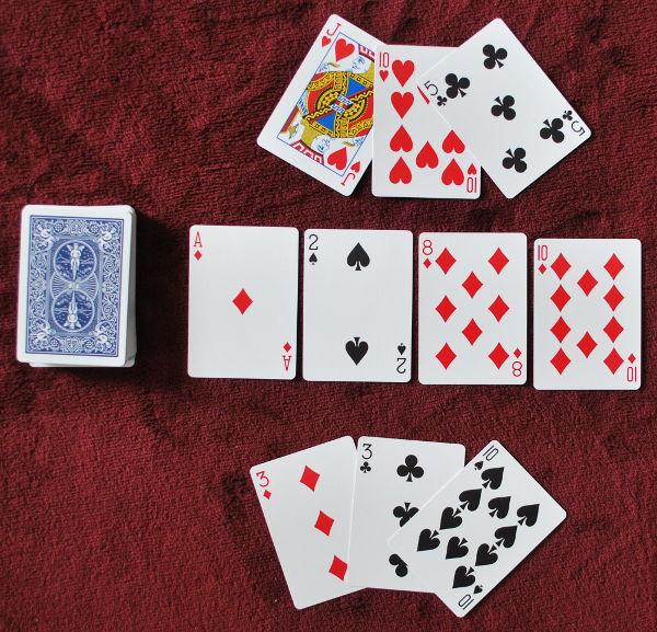 Kaszinó kártyajáték játékszabálya