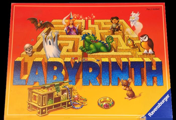 Labirintus társasjáték játékszabály