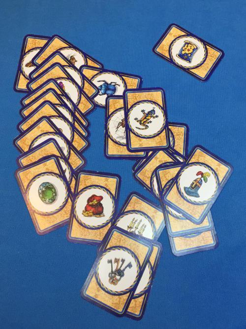 Labirintus társasjáték titokkártyák