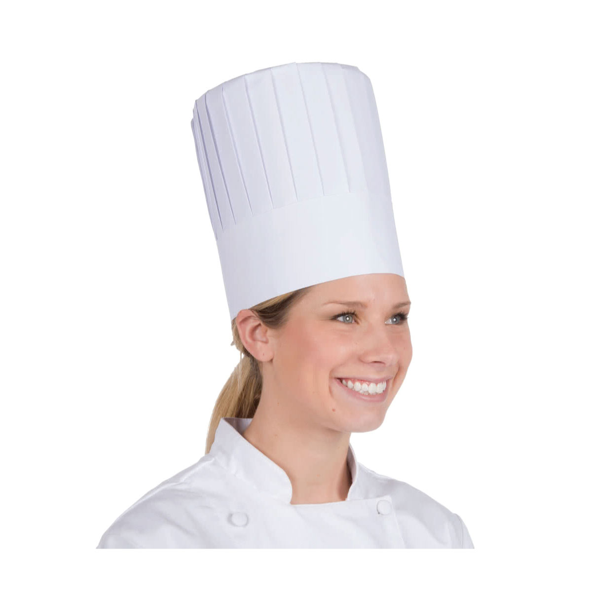 kitchen hats led ceiling lighting gygi linens accents 9 10 flat paper chef hat