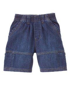Denim Pull On Short