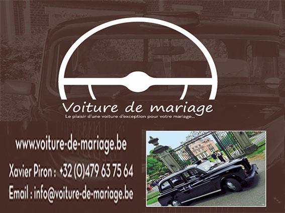 voitures de mariage