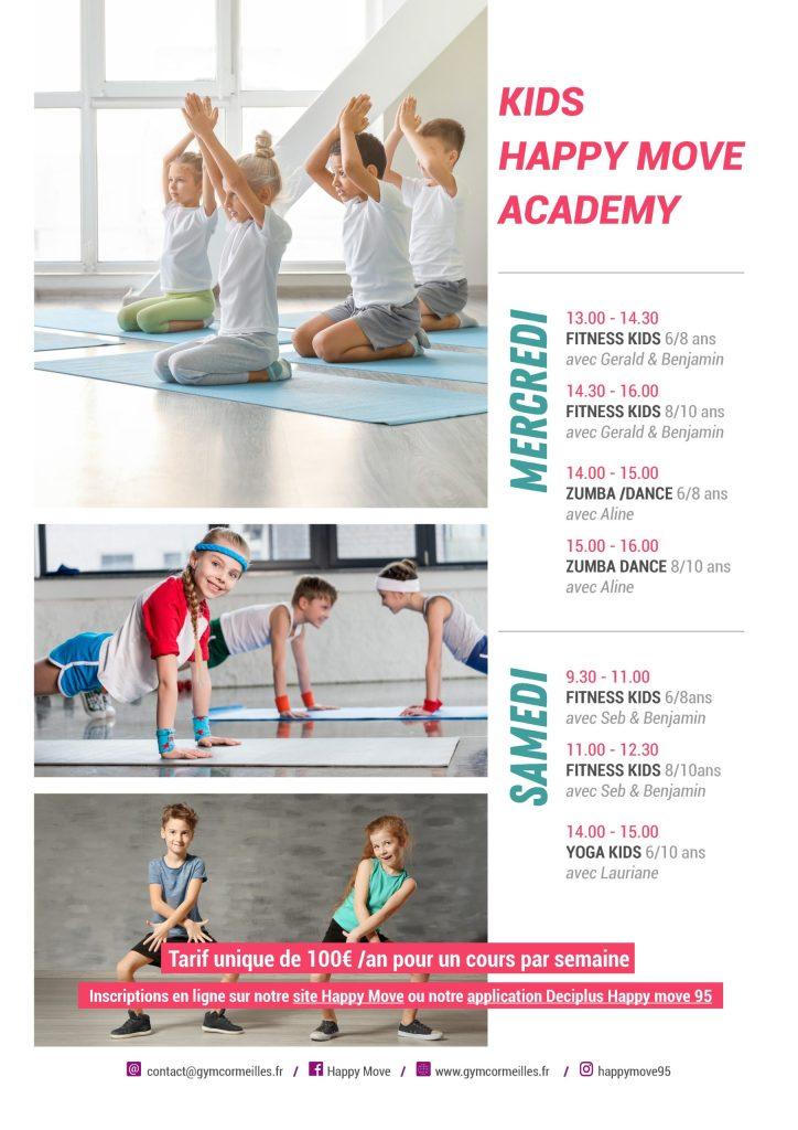 planning gym enfants