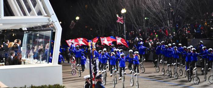 The Gym Dandies in the National Spotlight at the 2013 Presidential Inaugural Parade!