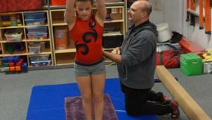 Gymnastics Gymfinity Coach J Orkowski