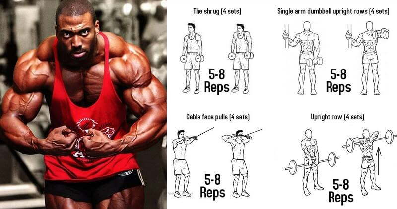 Workout Training Plan To Build Towering Traps