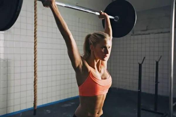 muskler tjej bränna fett