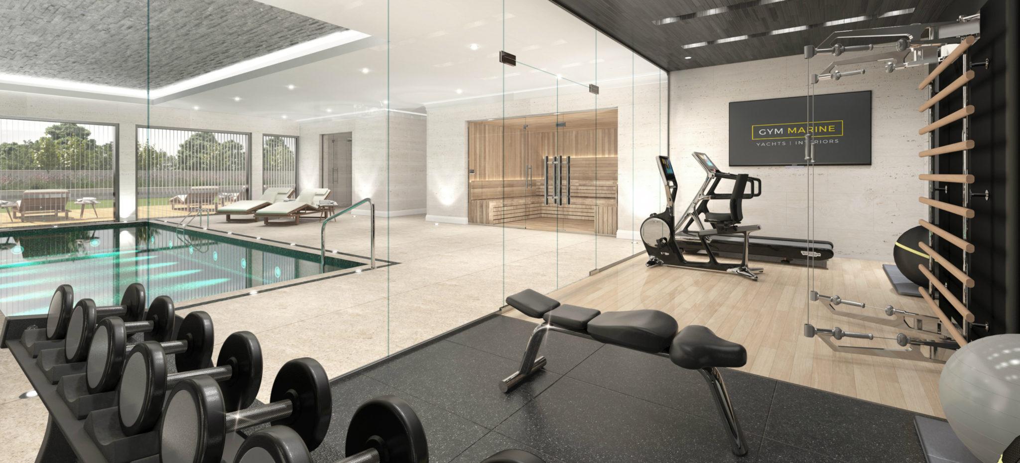 Superyacht Gym  Home Gym Design  Buy Gym Equipment  Gym