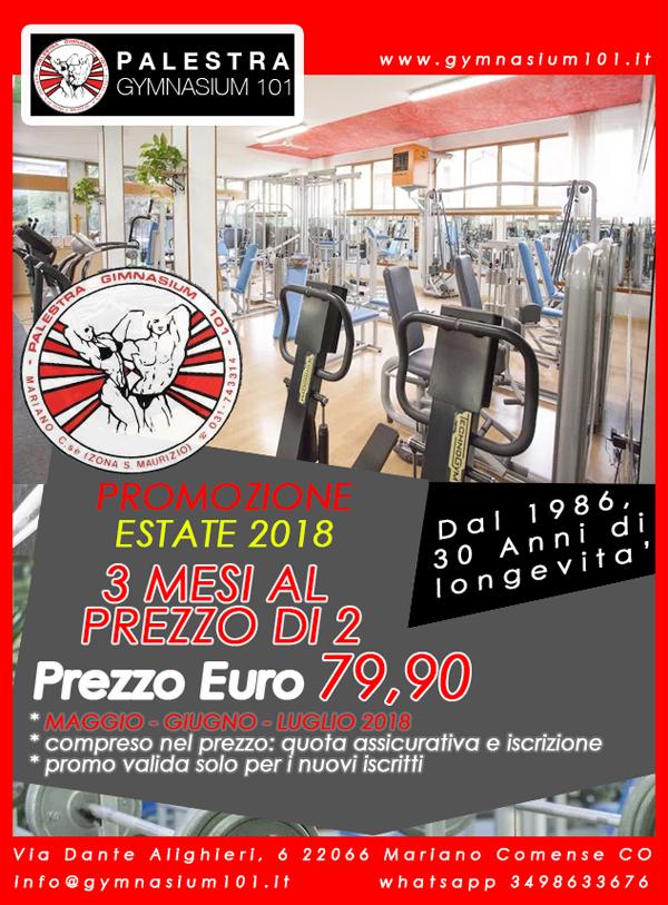 promozione estate 2018