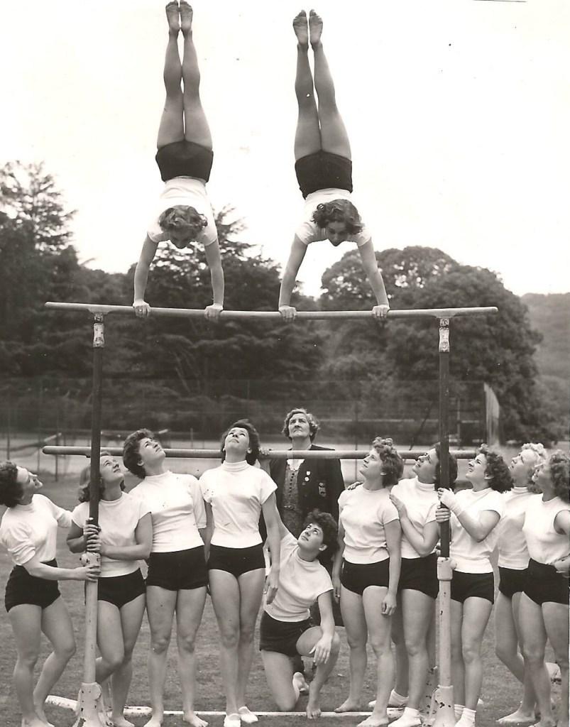 1952 Olympic women hopefuls at Bisham