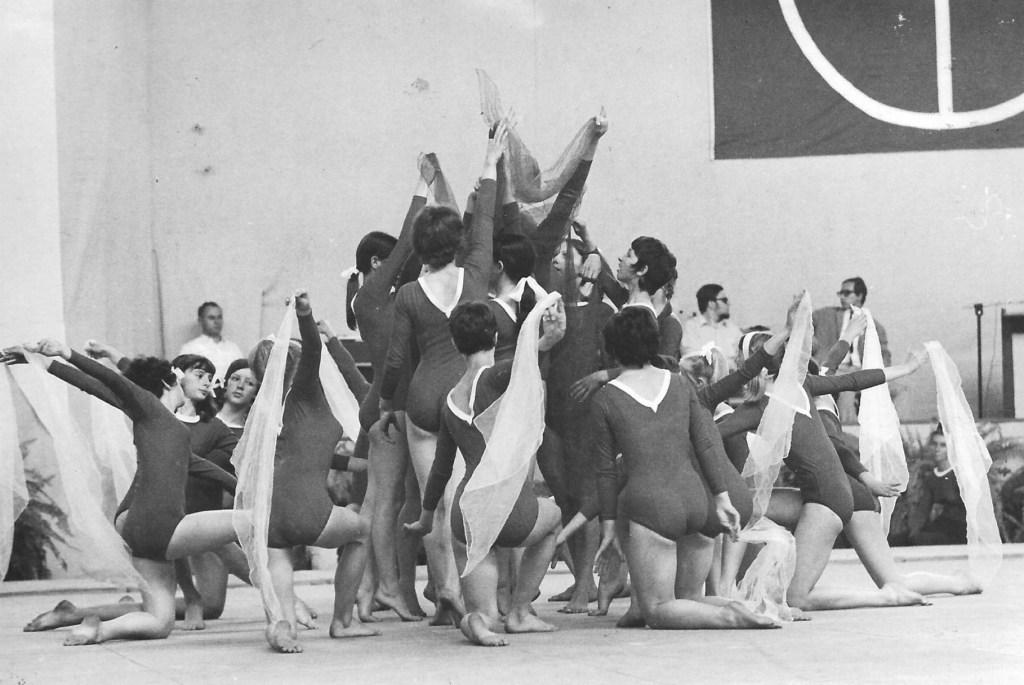 English Schools team at the Gymnaestrada Basle