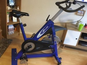Pulse Fitness Gymkvalitet Spinningcykel