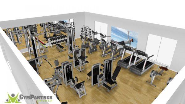 Begagnat Gym Precor Komplett