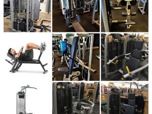 nya och begagnade gymmaskiner