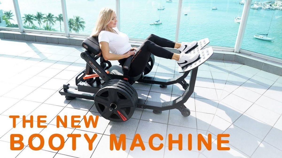 Köp eller byt in Friviktsmaskinen Booty Builder Platinum hos GymPartner….