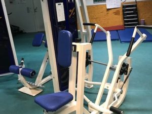 Precor Rowingmaskin med bröststöds-dyna CL
