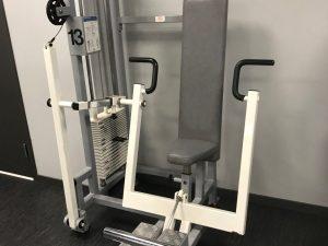 Nordic gym Sittande bröstpress