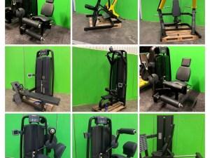 inventarier och gymmaskiner