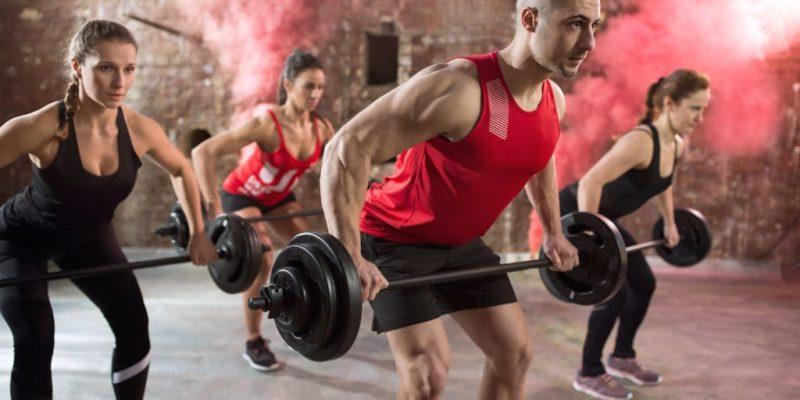Let's Get You Stronger är ett BodyPumpset Reebok Sista-Chansen