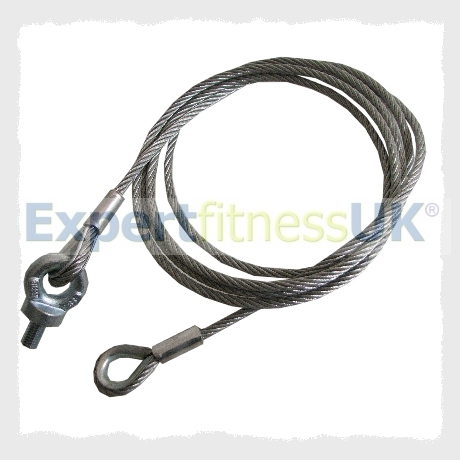 PowerSport Leg Extension 2 Station MultiGym Gym Cable Wire