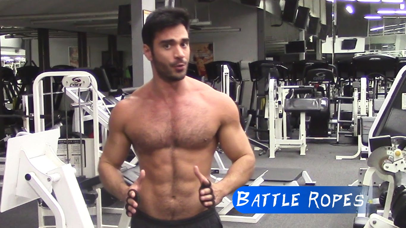 Battling Ropes Workout Video  Rodiney Santiago