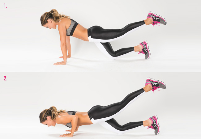 Tone It Up Girls - Home workout - move 2 - Women's Health and Fitness Magazine