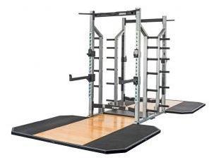 york sts power rack lifting platform