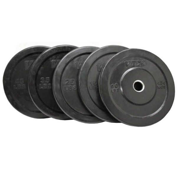 Troy Solid Rubber Bumper Plates Gym Source