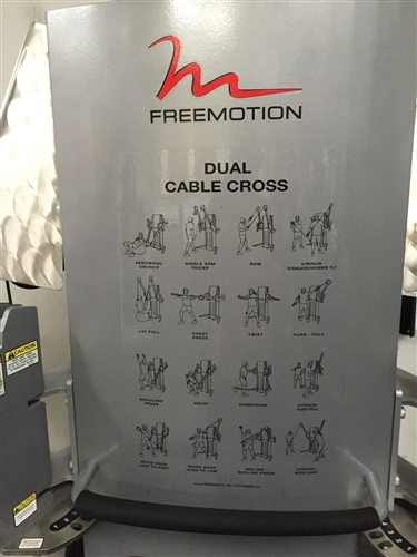 FreeMotion Dual Stack Cable Crossover  GymStorecom