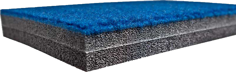 Carpet Bonded Foam Roll: Flat, EVA or Trocellen
