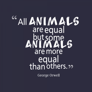 all animals are equal