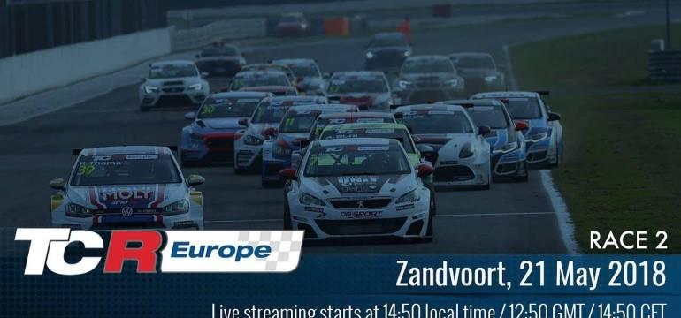 2018 Zandvoort, TCR Europe Round 4 ÉLŐ