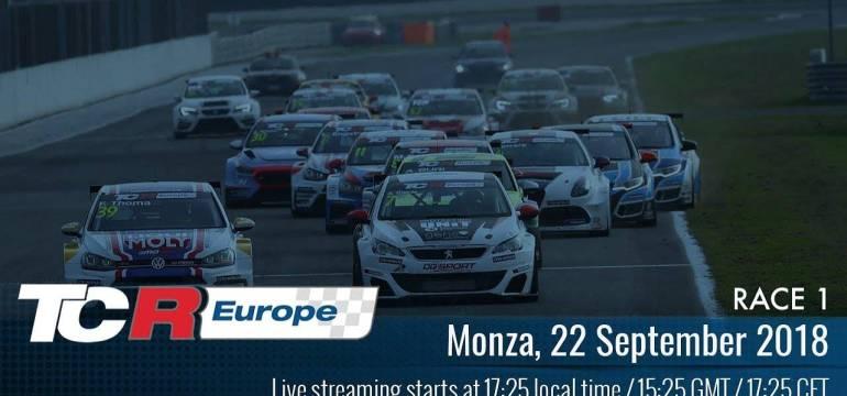 2018 Monza, TCR Europe Round 11 17:25 Élő