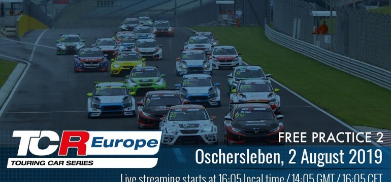 TCR Europe 2019 Rounds 9 & 10 – Oschersleben FP2