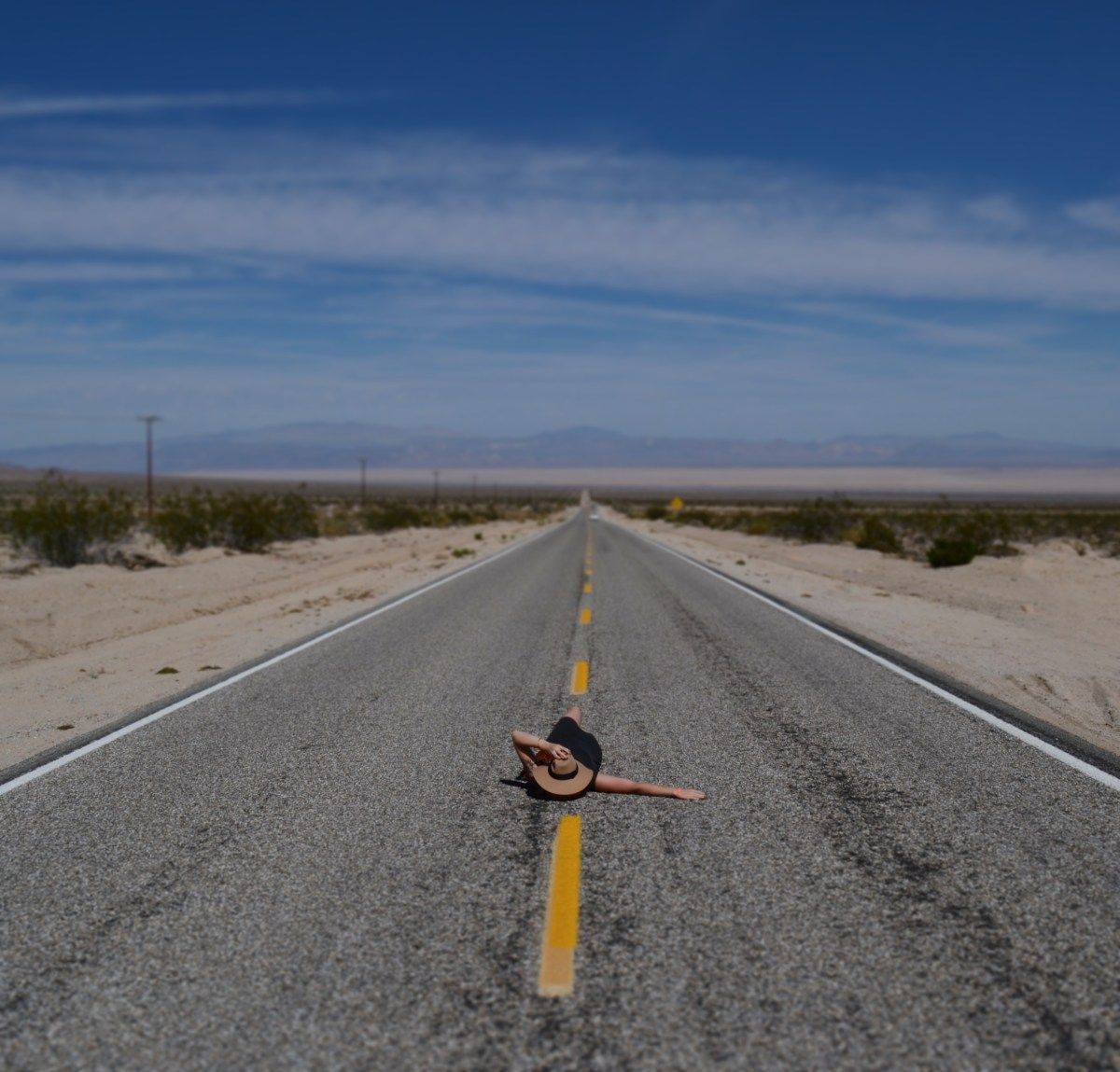 Roadtrippin' America: Day I Desert Drive