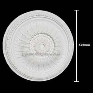 Gypsum Medallion D017