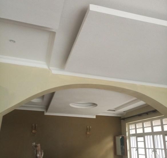 Gypsum ceiling design lounge dining