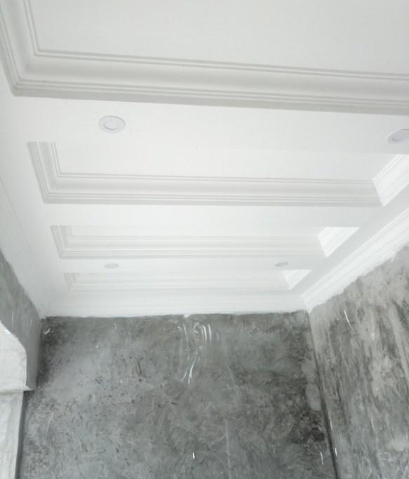 gypsum ceiling entry porch