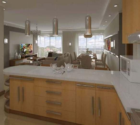 gypsum ceiling kitchen apartment