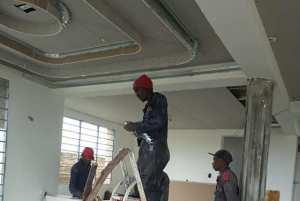 Gypsum Ceiling Kenya - Installation 01