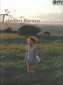 Picture of girl in field on cover of 'Travellers Journeys' by FFT