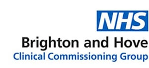 NHS Brighton and Hove logo for Clinical Commissioning Group