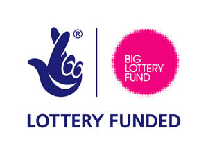 Big lottery fund funded logo