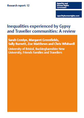 Thumbnail of report 'Inequalities experienced by Gypsy and Traveller communities: A review'
