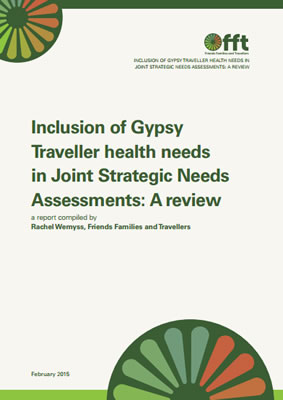 thumbnail of report cover for 'Inclusion of Gypsy Traveller health needs in Joint Strategic Needs Assessments: A review'