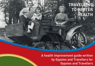 Front page of guide for 'Travelling to Better Health'