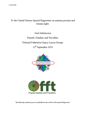 Thumbnail of submission cover 'To the United Nations Special Rapporteur on extreme poverty and human rights'